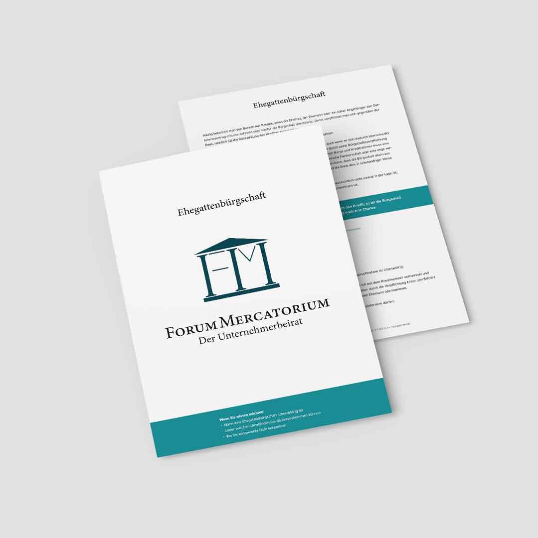 PDF-Download zum Thema Ehegattenbürgschaft