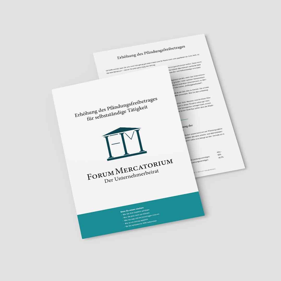 PDF-Download zum Thema Erhöhung Pfändungsbeitrag Selbstständige