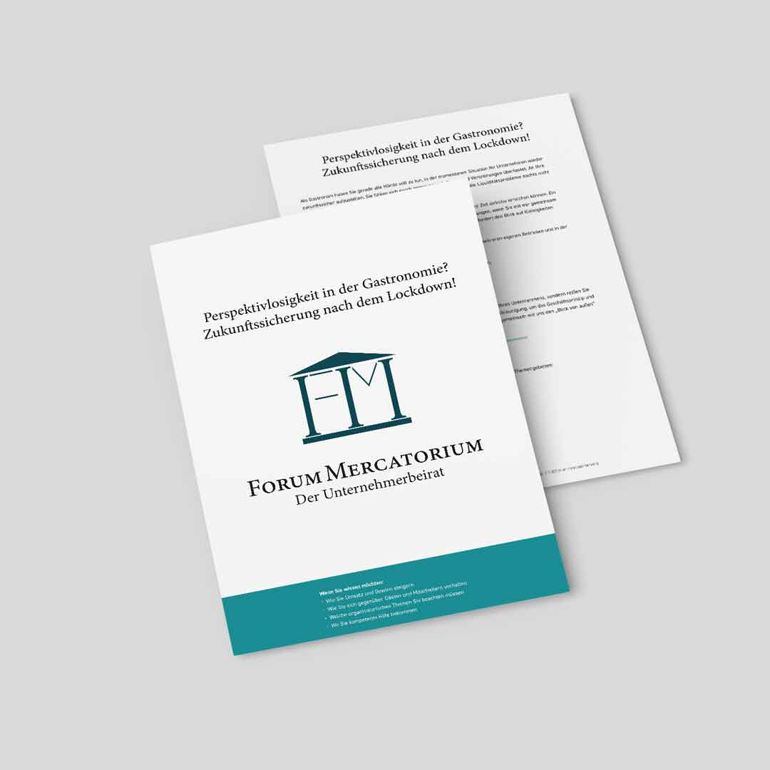 PDF-Download zum Thema Perspektivlosigkeit in der Gastronomie? Zukunftssicherung nach dem Lockdown!