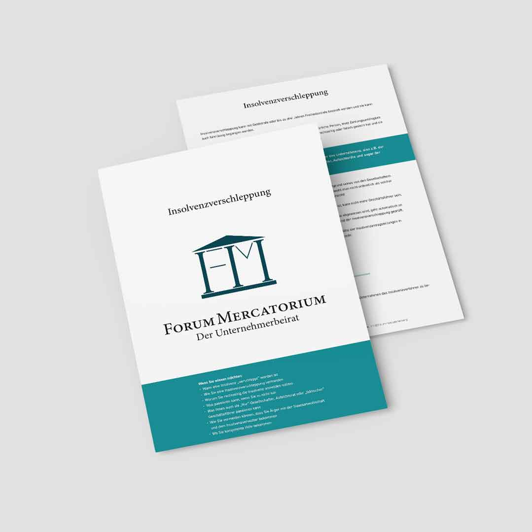 PDF-Download zum Thema Insolvenzverschleppung