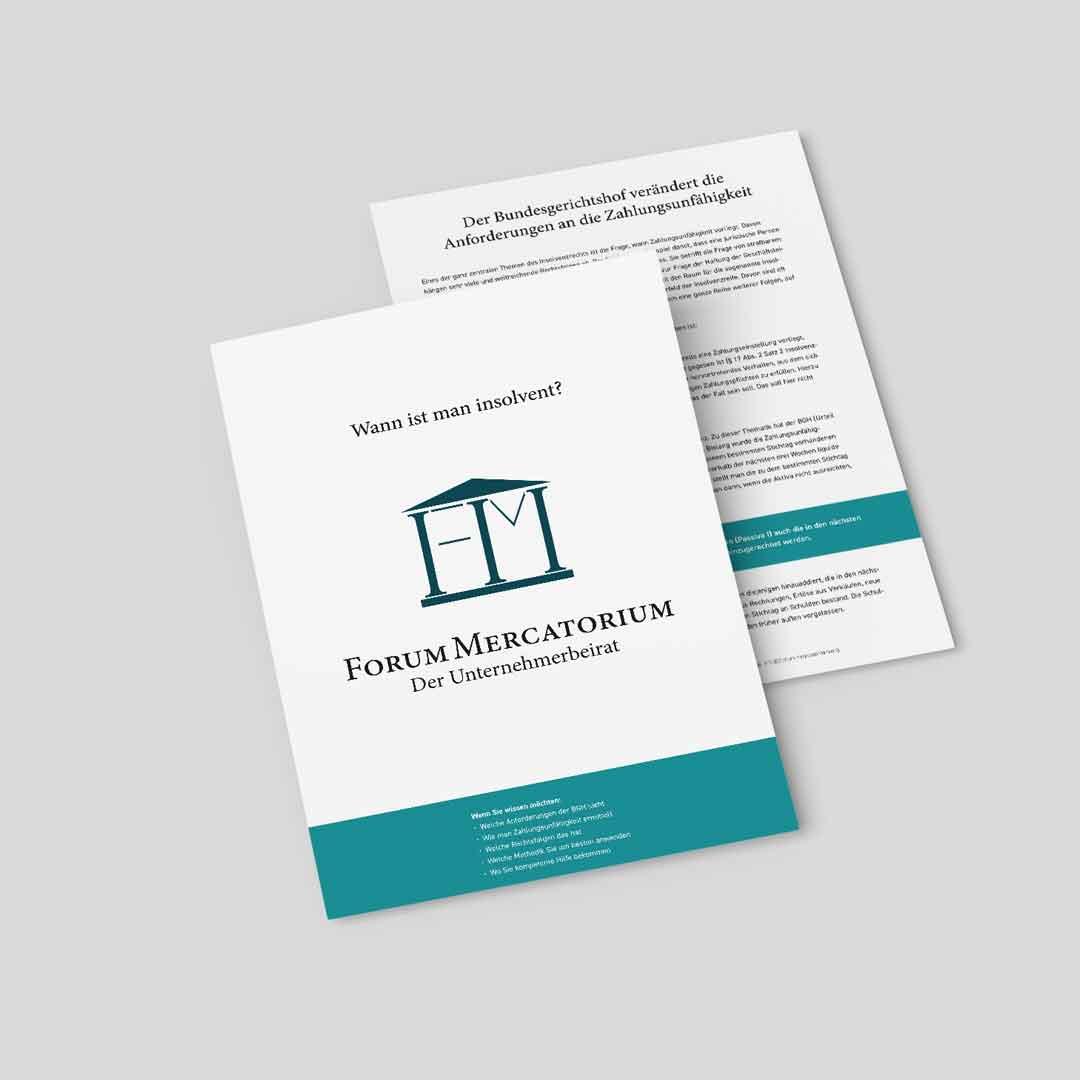 PDF-Download zum Thema Wann ist man insolvent?